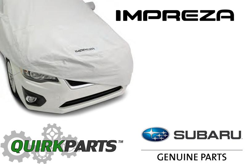 2012-2015 Subaru Impreza WRX Car Cover Impreza 4-Door OEM NEW