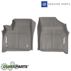 OEM NEW Front Row All Weather Floor Liners Gray 2018 Chevrolet Traverse 84331851