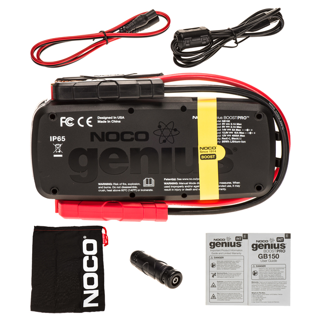 NOCO Genius Boost Pro GB150 4000 Amp Lithium Jump Starter 12V 4000A 19366933 GM