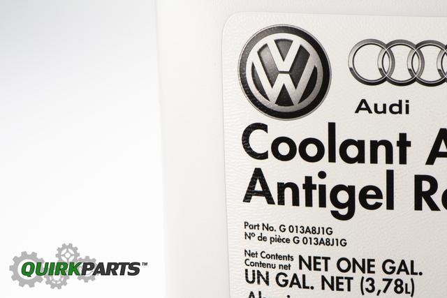 1998-2018 VW Volkswagen G12 Engine Red Coolant Antifreeze 1 Gallon OEM NEW