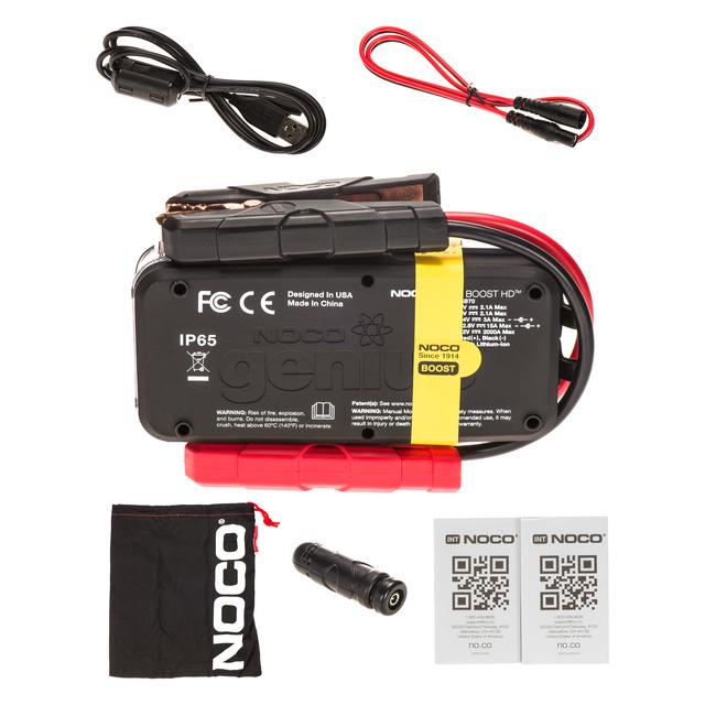 NOCO Genius Boost GB70 HD 2000 Amp 12V UltraSafe Lithium Jump Starter 19366934