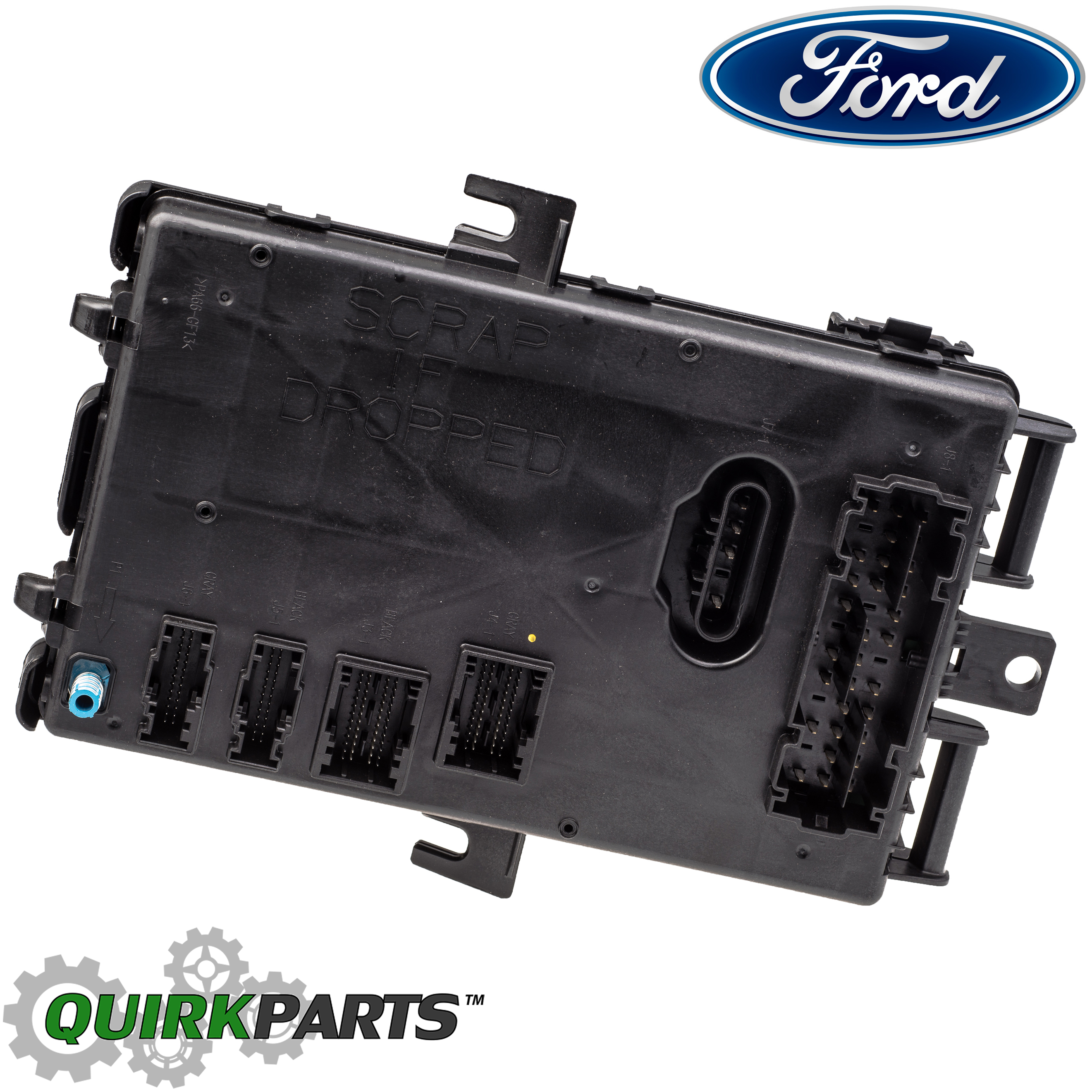 2005 2006 Ford Mustang Smart Junction Box Keyless Entry Alarm Fuse Control Module Oem 5r3z 15604 Dc Quirk Parts