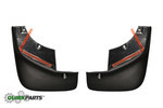 2007-2012 Mazda CX-9 Front Black Splash Guards Genuine OEM NEW TD11-V3-450F