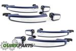 2012-2013 Chevrolet Sonic Blue Metallic Door Handles GENUINE OEM BRAND NEW