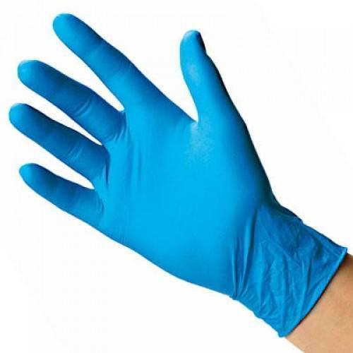 NEW Case Of 1000 Blue Nitrile Powder Free Disposable Non-Sterile Medium Gloves