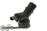 OEM NEW VW Volkswagen 2.5L Engine Lower Radiator Quick Coupling 2006-2010 Jetta