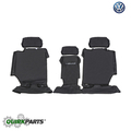 Rear Seat Cover With Tiguan Logo - Black