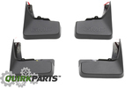 2010-2014 GMC Terrain Molded Front & Rear Splash Guards OEM NEW Genuine 19170503