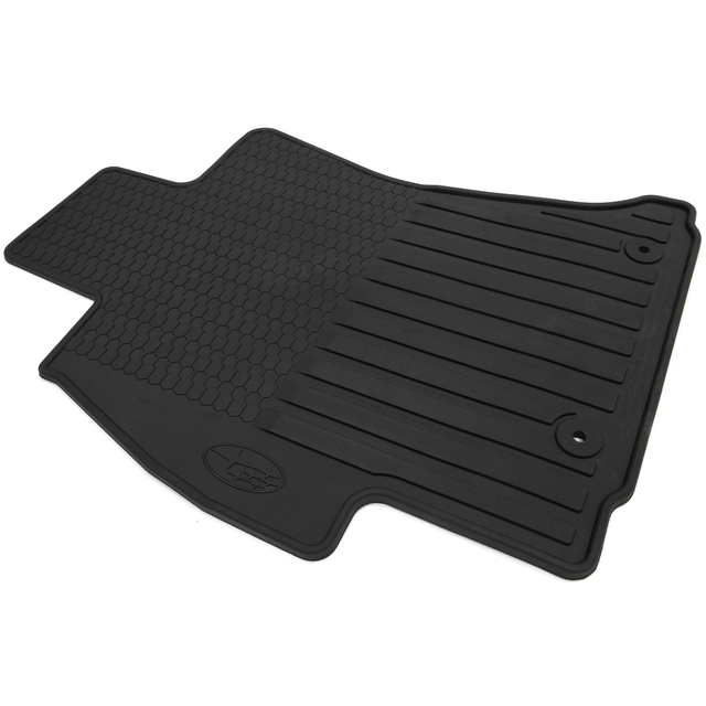2014-2015 Subaru Forester All Weather Floor Mats Rubber Black OEM NEW