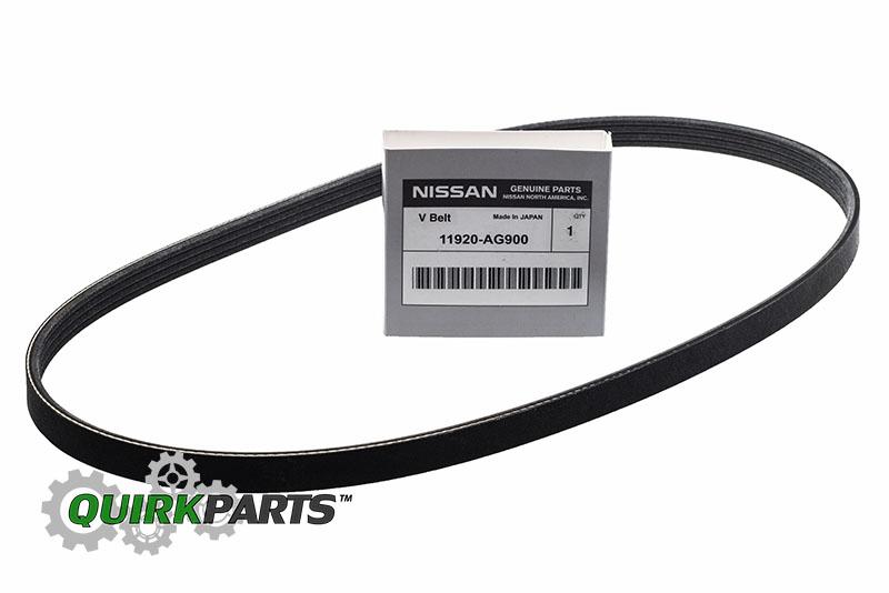 2001-2006 Nissan Pathfinder 350Z Fan V Accessory Drive Belt OEM NEW Genuine