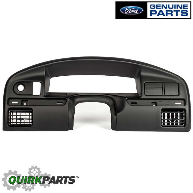 Ford F150 F250 F350 Bronco Black Dashboard Panel Instrument Cluster Bezel OEM