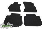 2015 Subaru Legacy & Outback All Weather Rubber Floor Mats Black Genine OEM NEW