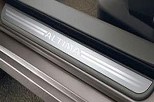 Door Sill Kick Plates, Aluminum, Front