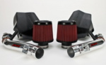 2007-2009 Nissan 350Z Generation 2 Long Tube Dual Intake Kit With Dry Filter