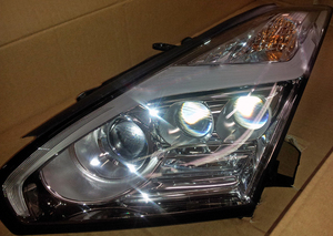 2015 GT-R HEADLAMP ASSEMBLIES (SET OF 2, LEFT AND RIGHT)