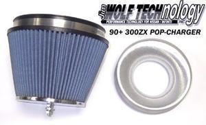 Jim Wolf Technology POP-Charger Air Filter - 1990-19996 300ZX (TT & NA)
