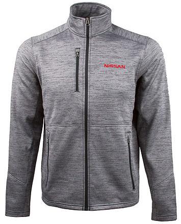 Nissan Men's Fleece Jacket Black