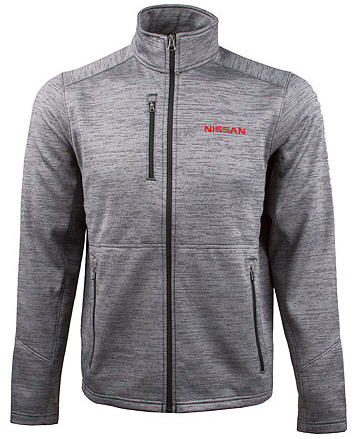 Nissan Men's Fleece Jacket Black