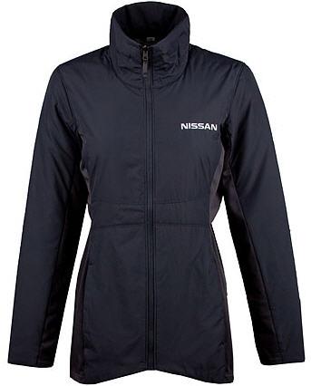 Nissan Ladies Insulated Jacket Grey