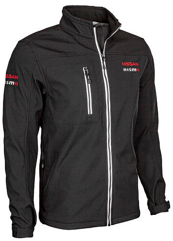 NISMO Men's Softshell Jacket Black
