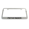 NISSAN PATHFINDER CHROME LICENSE PLATE FRAME KIT