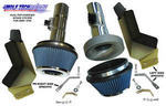 Jim Wolf Technology POP-Charger Air Filter (Dual with Heat Shields) - 2009+ 370Z