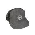 Denim Black Mesh Nissan Hat