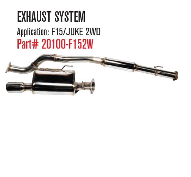 Juke Catback Exhaust