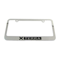 NISSAN XTERRA CHROME LICENSE PLATE FRAME KIT