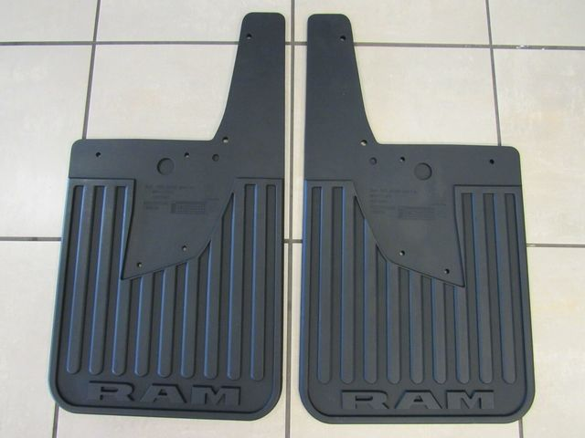 Splash Guards-Rubber Rear w/flares