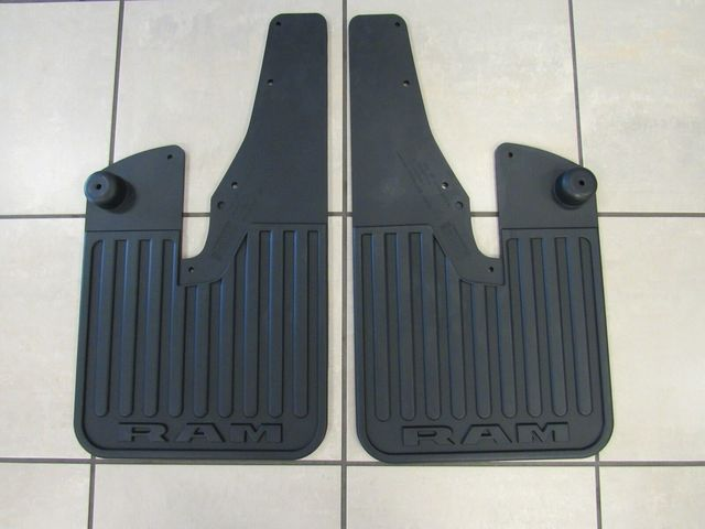 Splash Guard-Rubber Front w/flares
