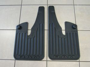 Splash Guard-Rubber Front w/o flares