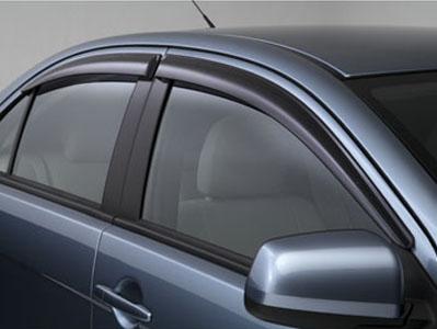 Lancer Evolution 10 Sport Vent Rain Guard Visors EVO X MZ562863EX Genuine Mitsubishi