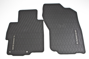 FREE SHIPPING! Genuine Mitsubishi Lancer all weather rubber floor mats