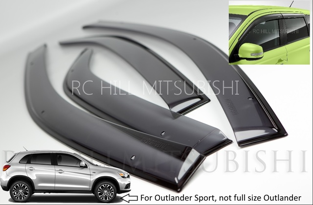 Outlander Sport Side Window Deflectors (not full size Outlander)