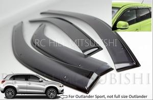 Outlander Sport Side Window Deflectors (not full size Outlander)