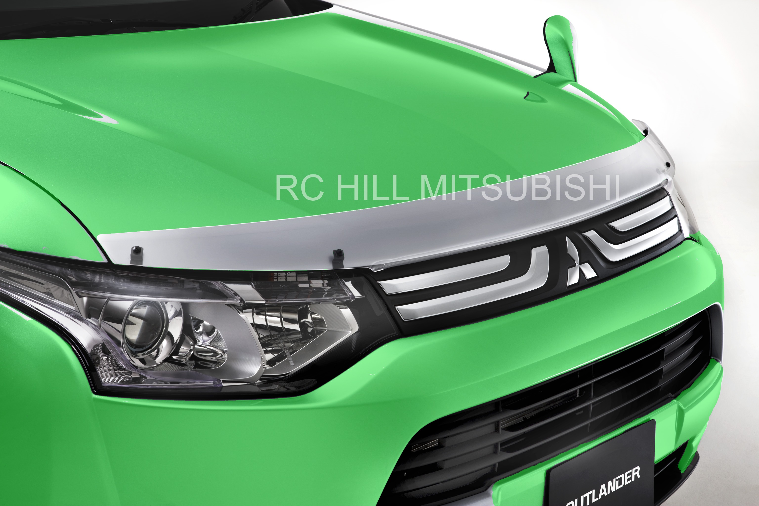 Genuine Mitsubishi Outlander Hood Deflector Hood Protector, not for Outlander Sport