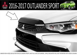 2016 & 2017 Outlander Sport Hood deflector