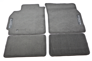 FREE SHIPPING!  Genuine Mitsubishi Evolution IX Black Floor Mats, Carpet