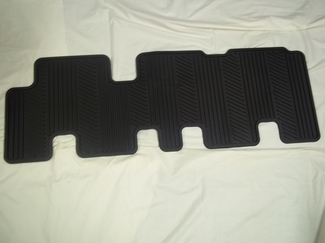 Floor Mats, All-Weather-3rd Row