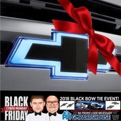Illuminated Black Bow Tie Kit