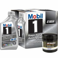 6 Qrt Mobil 1 Oil Change & UPF48R
