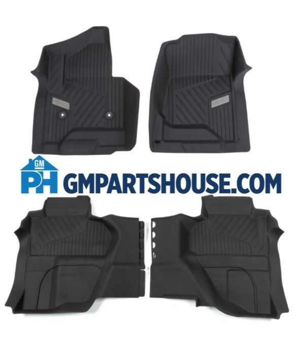 GM Double Cab Truck Floor Liners