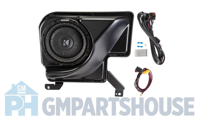 14-18 Silverado Sierra Double Cab 200w Kicker Kit