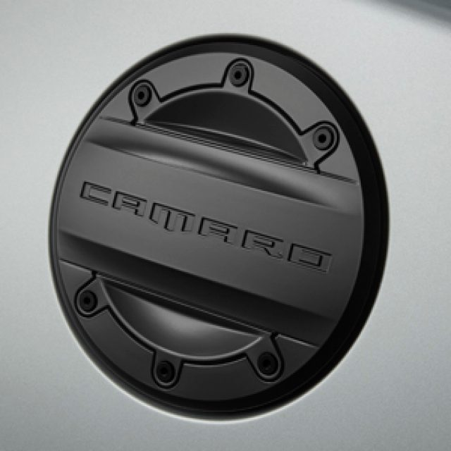 Camaro Black Fuel Door
