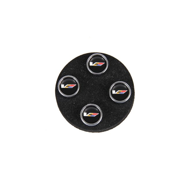 Cadillac V Series Valve Stem Caps