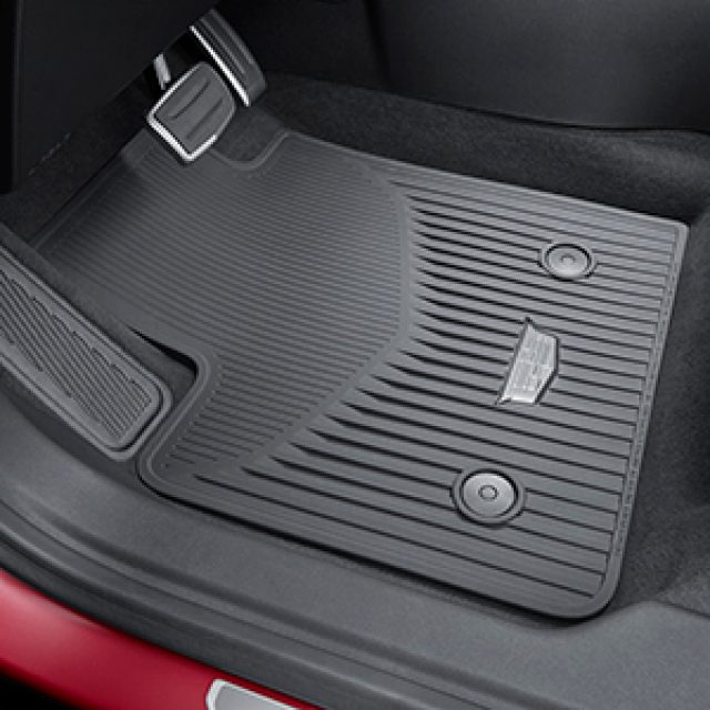 Cadillac Front Amp Rear All Weather Floor Mats Gmpartshouse