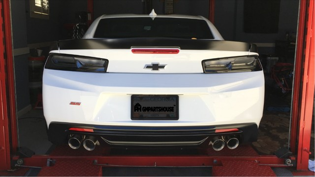 Camaro Darkened Tail Lamps & 3rd Lamp
