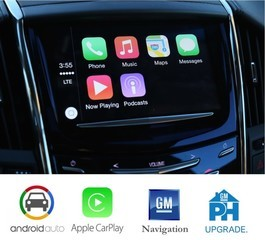 Cadillac CUE 2.5 Upgrade Apple Android Nav