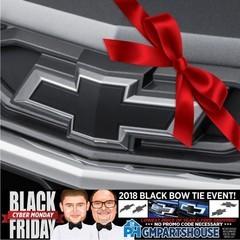 Chevy Black Bow Tie Kit